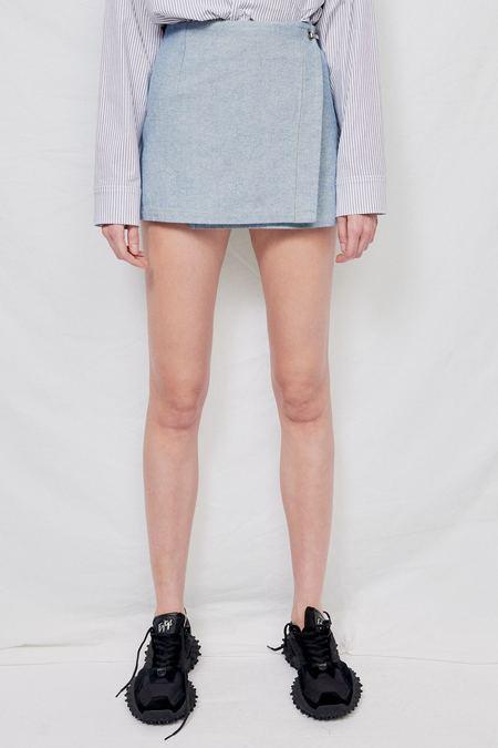 Assembly Mini Skirt - Indigo Denim