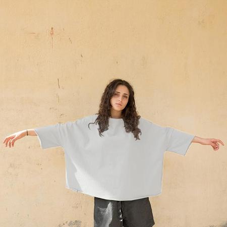 Album Di Famiglia Unisex Oversized T-shirt - white