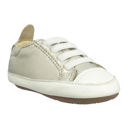 kids Old Soles Baby Eazy Jogger Shoes - white