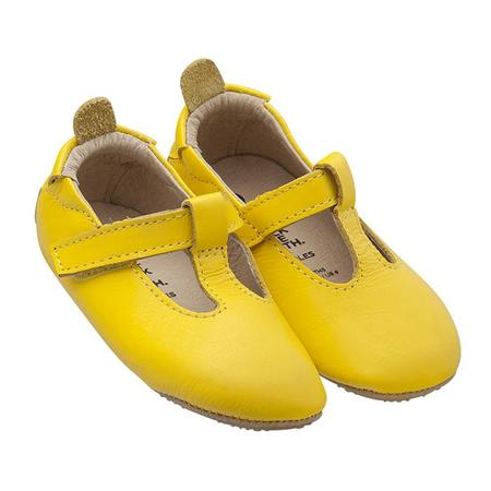 kids Old Soles Baby Omhe Bub Mary Jane Shoes - Yellow