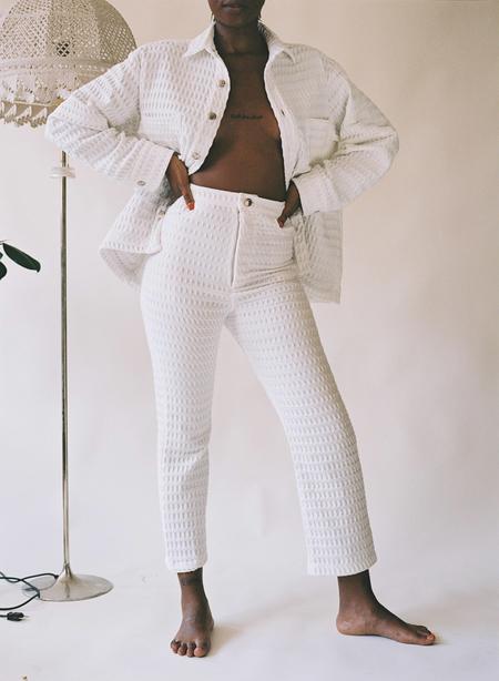 Aniela Parys Kalypso Waffle Trousers