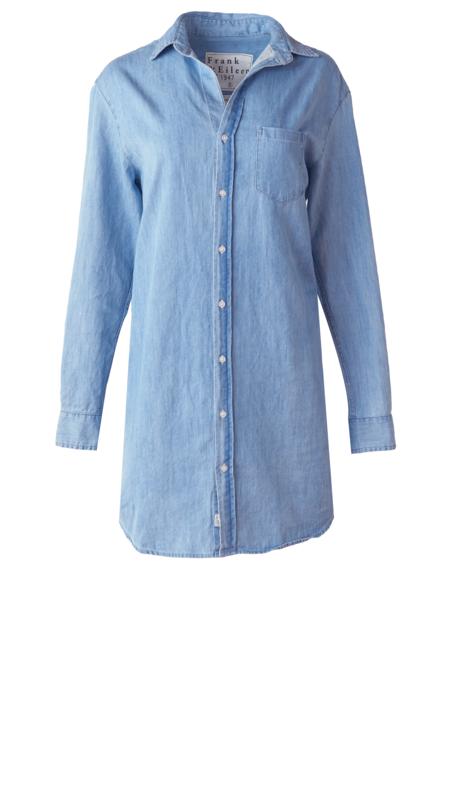 Frank & Eileen Mary Dress - Classic Blue Wash