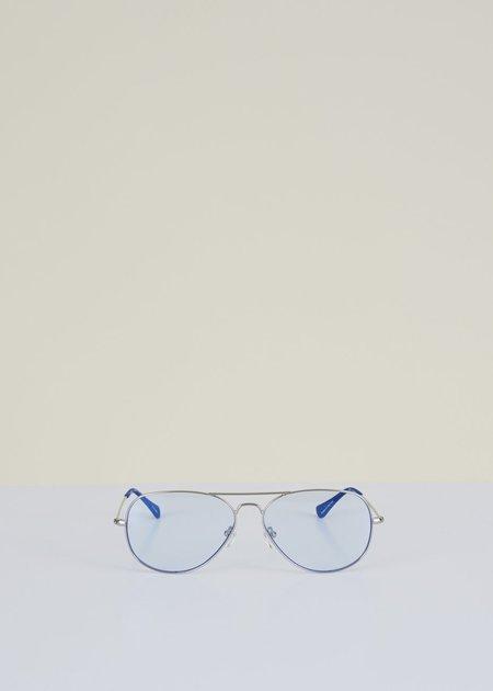 Caddis Mabuhay Reader eyewear - Chrome Light Blue