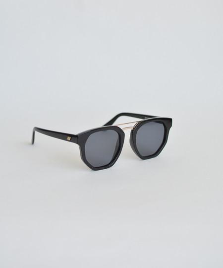 Le Specs Black Thunderdome Sunglasses