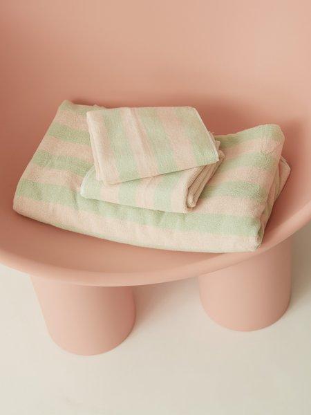 Aeyre Towel Set - Stripe Mint