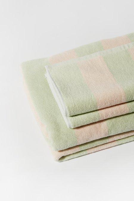 Aeyre Towel Set - Wide Stripe Mint