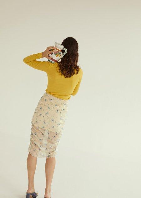 permanent vacation Abloom Skirt - natural