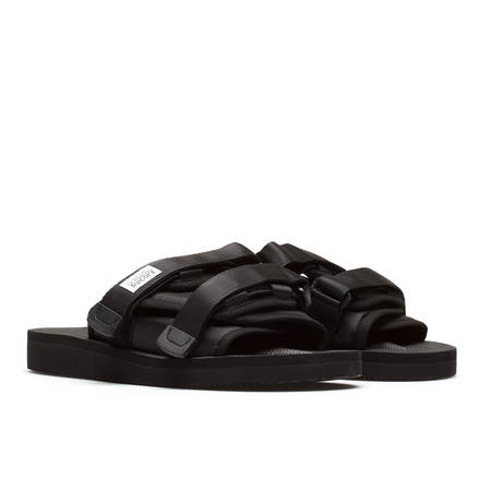 UNISEX SUICOKE Moto CAB slippers - black