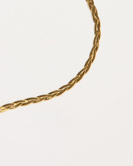 Pamela Love Braided Herringbone Thin Chain