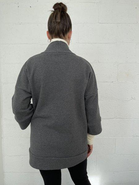 Odeyalo Bloom Kimono Inspired Overpiece - Dark Grey