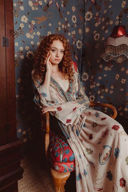 Carolina K Jude Dress - Queendom Print