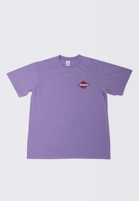 Powers Diamond Logo T-Shirt - muted plum