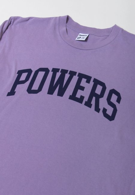 Powers Arch long Sleeve T-Shirt - muted plum