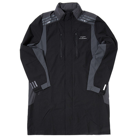 ADIDAS BY WHITE MOUNTAINEERING LONG COAT - BLACK