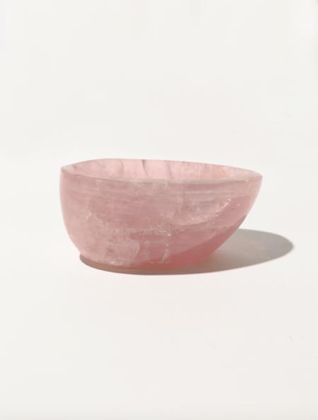 Modern Society Energy Infused Rose Quartz Bowl - pink