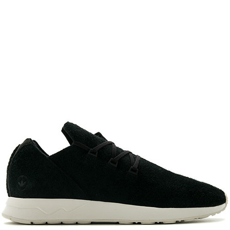 ADIDAS BY WINGS + HORNS ZX FLUX X LEATHER - BLACK