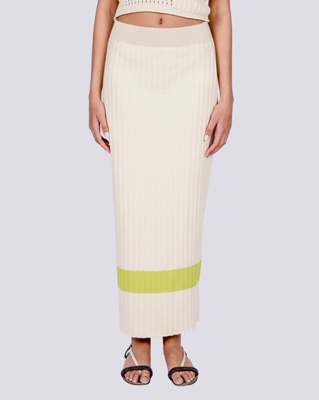 Rita Row Elvia knit skirt - beige
