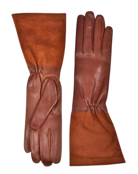 Amato New York Gloves - Cognac