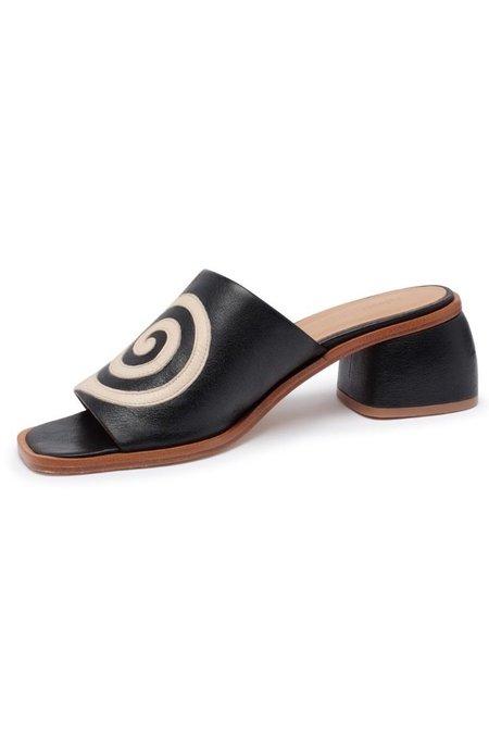 Paloma Wool Tornado Sandal - Black/Off White