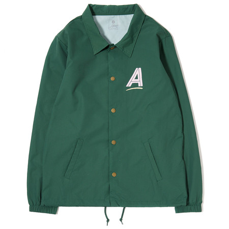 ALLTIMERS SEARS COACHES JACKET - GREEN