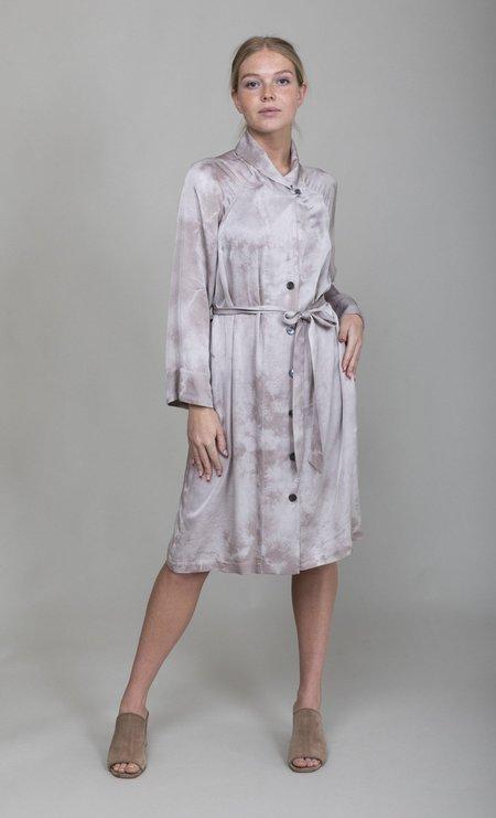 Raquel Allegra Robe Dress - Silver Cloudwash TD