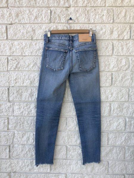 Moussy Tyrone Skinny Jean - Light Blue