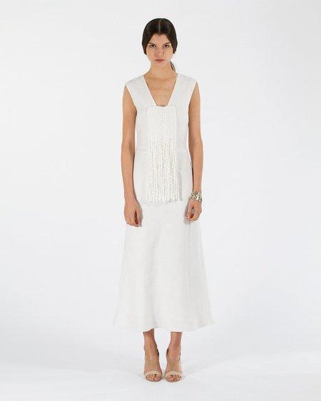 VOZ Sheila Hicks Dress - Ivory
