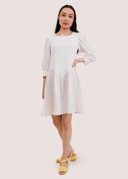 Tach Clothing Anker Dress - White