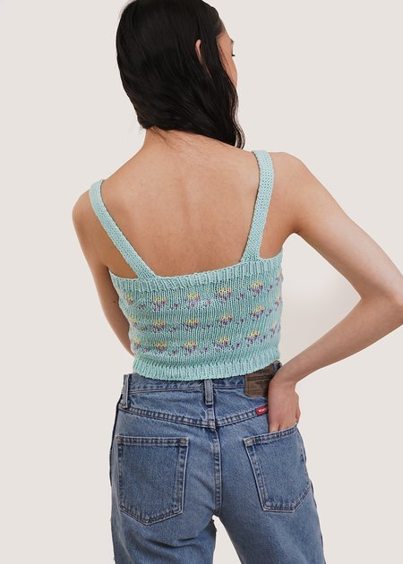 Tach Clothing Mayra Knit Top - Turquoise