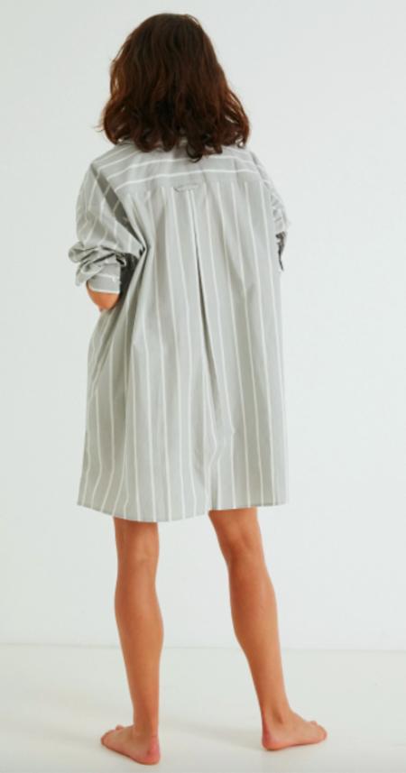 General Sleep Sleep Shirt lounge - Sky Stripe