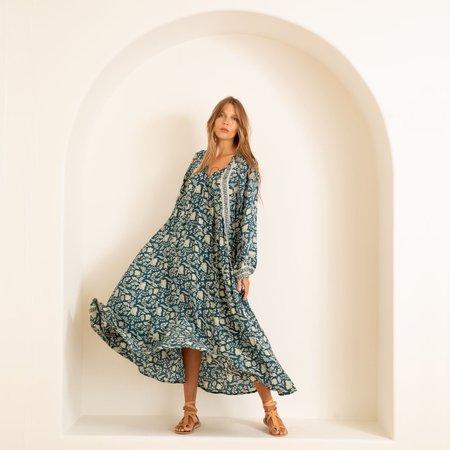 Natalie Martin Fiore Maxi Dress - Silhoutte Shallows