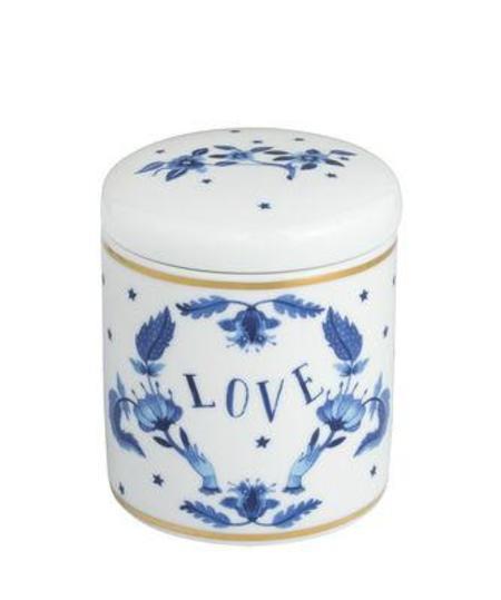 Bitossi Ginger Jar Love Candle