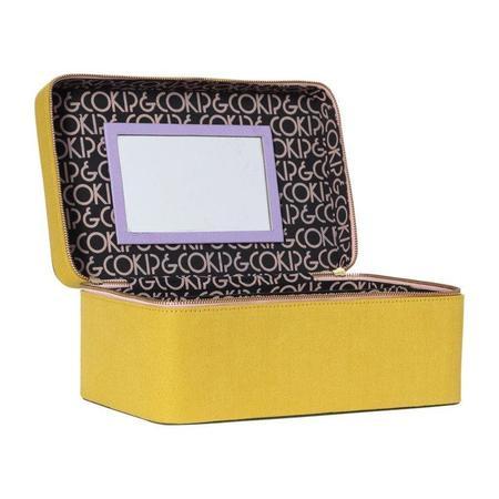 KIP & CO Gypset Military Toiletry Case bag - yellow