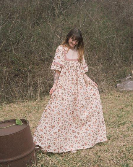 Meadows Heli Dress - Roses