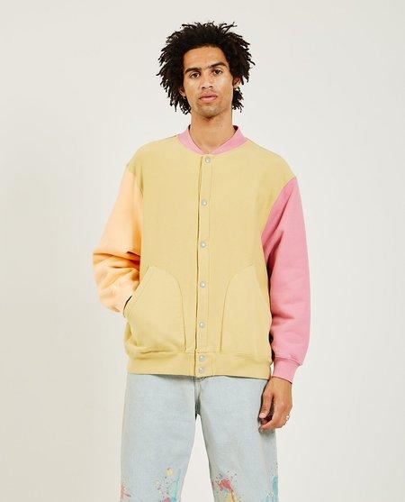 Levi's Vintage Fleece Cardigan - Lemon-Orange Multi-color