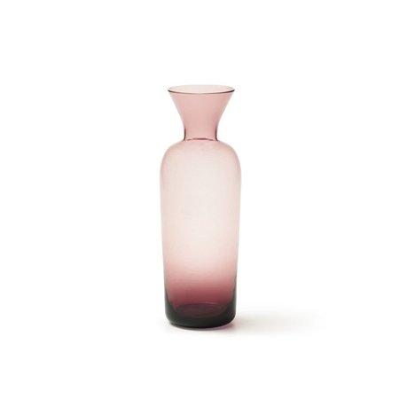 Bitossi Bottle Vase - Pink/Purple