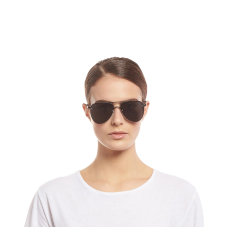 Le Specs The Prince Sunglasses - Matte Black
