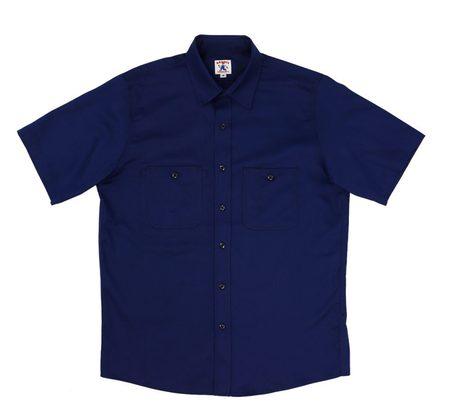 Randy's Garments Short Sleeve 3 Pocket Work Shirt - Dark Navy