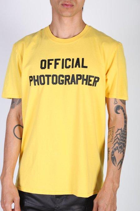 Rxmance OFFICIAL PHOTOGRAPHER TEE