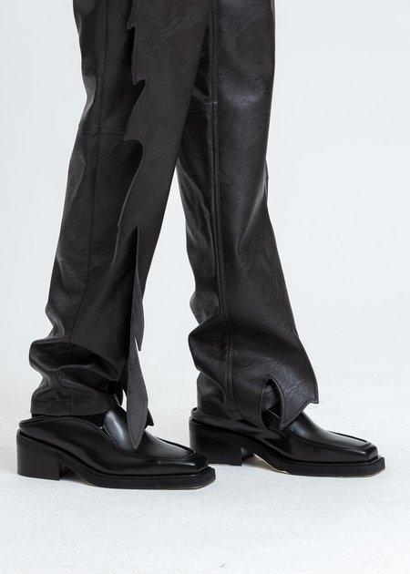 Y/project Wide Platform Loafers - Black