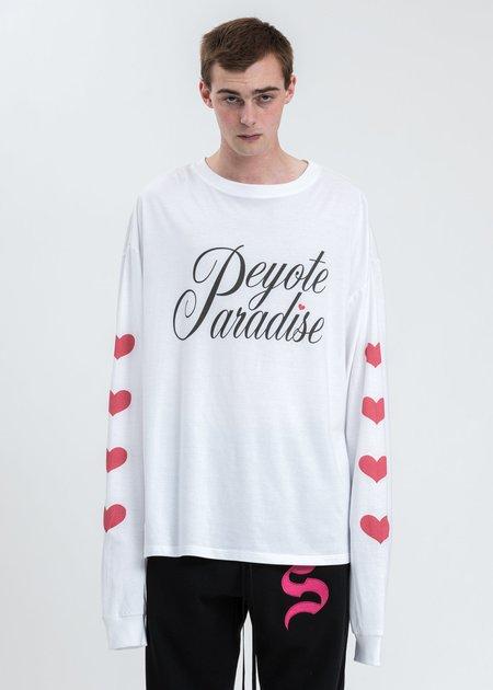 Salon Des Refuses Peyote Paradise Tee Shirt - White