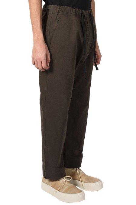 Ziggy Chen Drawstring Waist Pants - Dark Green