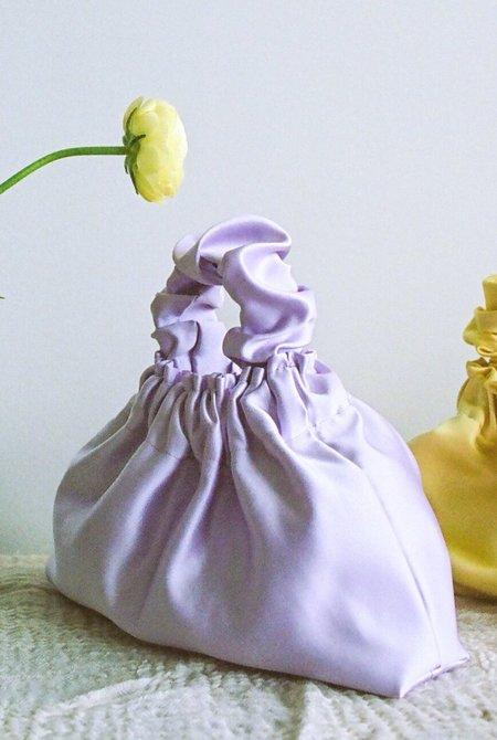 Bronze Age Halo Scrunchie Bag - Purple