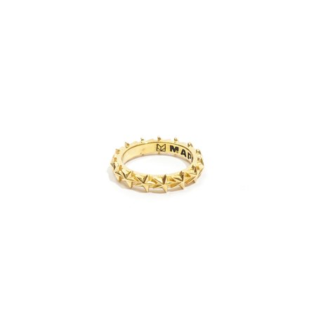 Maple Star Ring  - 14k Gold Plated/Silver 925