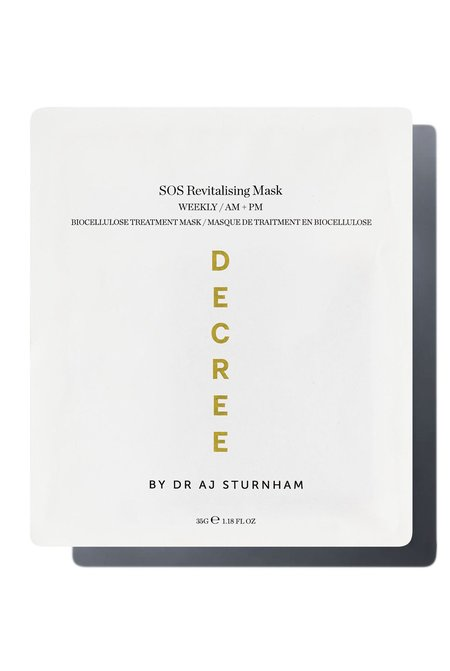 Decree 6 masks SOS Revitalising Sheet Mask