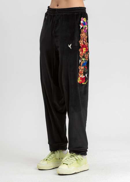 Doublet Chaos Embroidery Comfy Pants - Black