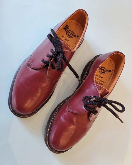 Vintage Dr Martens Oxfords - Burgundy