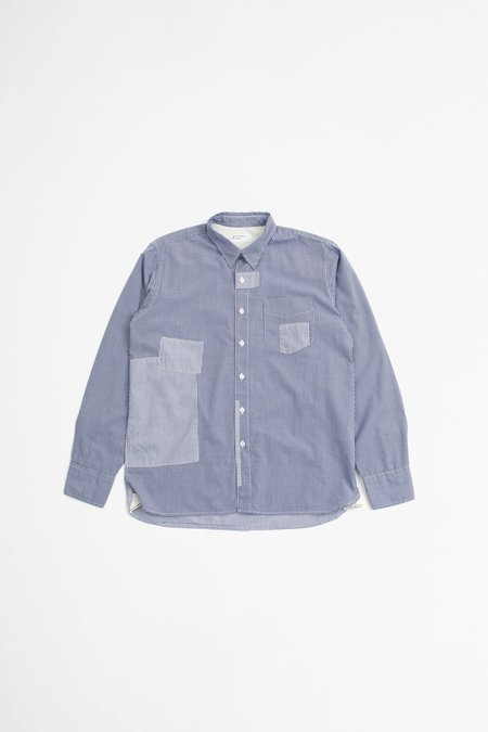 Universal Works Patched Shirt - Navy