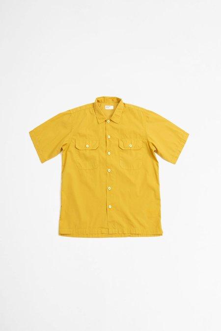 Universal Works Utility SS Shirt - Poplin Gold