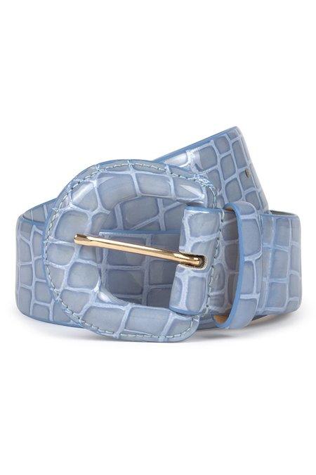 Paloma Wool Judy Belt - Light Blue Croc